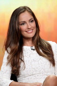 Actress Minka Kelly of the television show 'Charlie's Angels' speaks during the Disney ABC Television Group portion of the 2011 Summer Television...