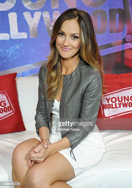 Actress Minka Kelly visits YoungHollywoodcom at Young Hollywood Studio on January 29 2011 in Los Angeles California