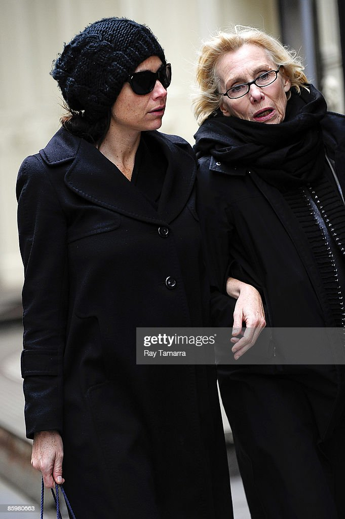 Actress Minnie Driver (L) and a friend shop in Soho April 14, 2009 in New York City.