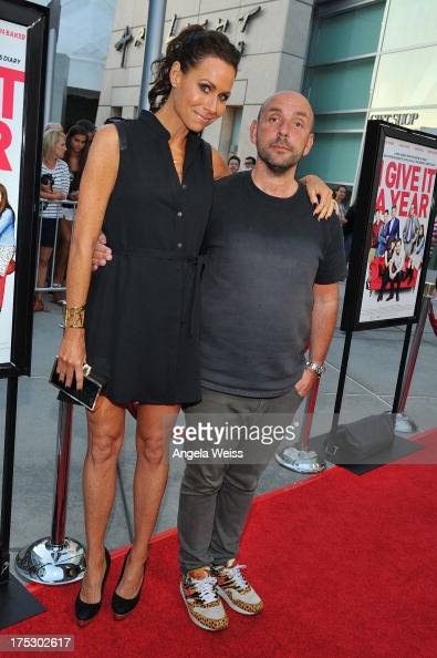 Actress Minnie Driver and director Dan Mazer arrive at the Screening of Magnolia Pictures' 'I Give It A Year' at ArcLight Hollywood on August 1 2013...