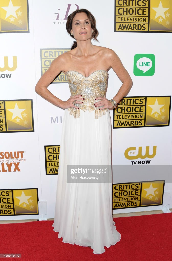 Actress <a gi-track='captionPersonalityLinkClicked' href=/galleries/search?phrase=Minnie+Driver&family=editorial&specificpeople=201884 ng-click='$event.stopPropagation()'>Minnie Driver</a> arrives at the 4th Annual Critics' Choice Television Awards at The Beverly Hilton Hotel on June 19, 2014 in Beverly Hills, California.