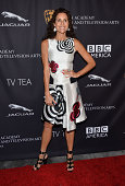 Actress Minnie Driver arrives at the BAFTA Los Angeles TV Tea presented by BBC and Jaguar at SLS Hotel on August 23 2014 in Beverly Hills California