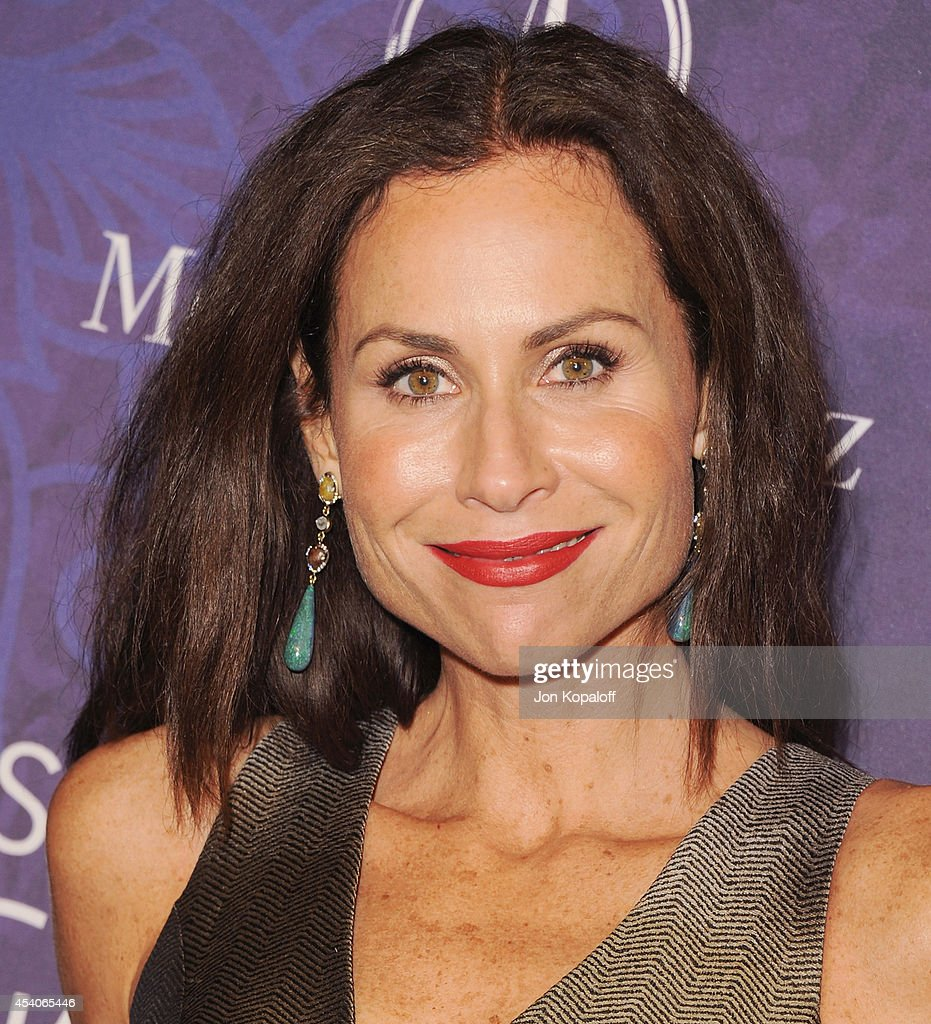 Actress Minnie Driver arrives at Variety And Women In Film Annual Pre-Emmy Celebration at Gracias Madre on August 23, 2014 in West Hollywood, California.