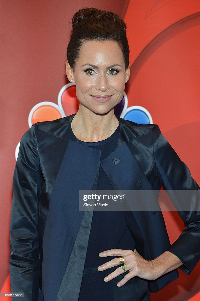 Actress Minnie Driver attends 2013 NBC Upfront Presentation Red Carpet Event at Radio City Music Hall on May 13, 2013 in New York City.