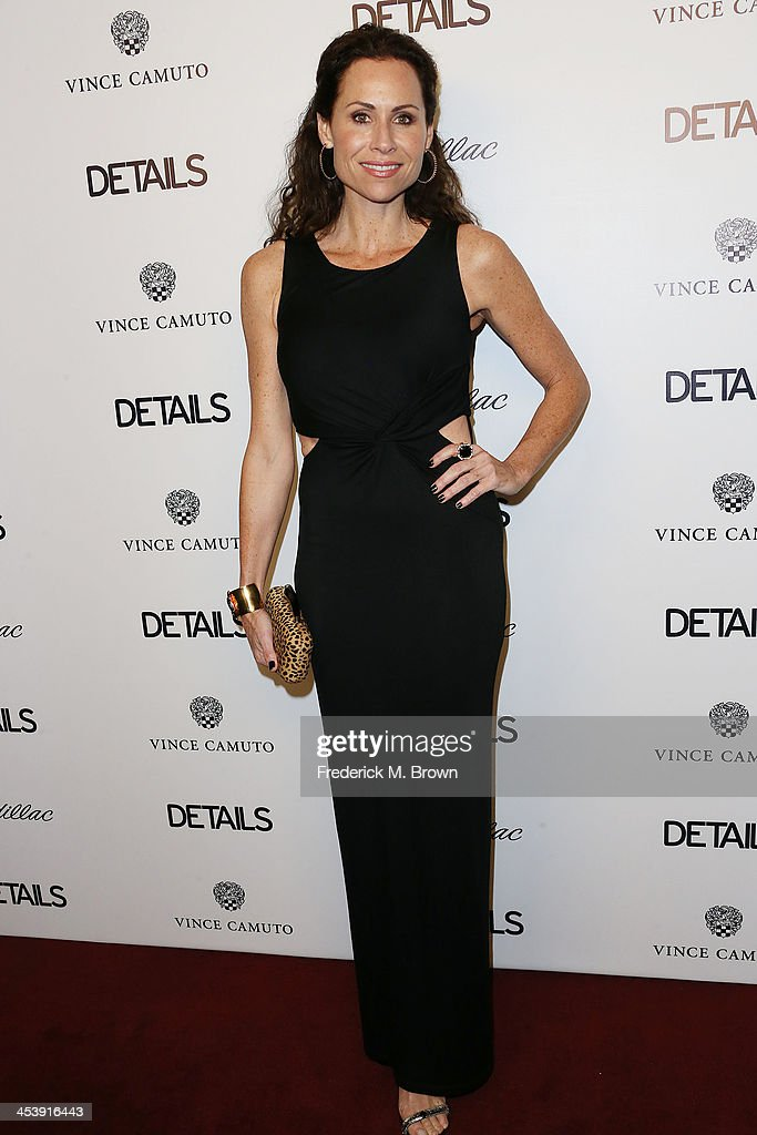 Actress <a gi-track='captionPersonalityLinkClicked' href=/galleries/search?phrase=Minnie+Driver&family=editorial&specificpeople=201884 ng-click='$event.stopPropagation()'>Minnie Driver</a> attends DETAILS Celebrates The 2013 Hollywood Mavericks at the Soho House on December 5, 2013 in West Hollywood, California.