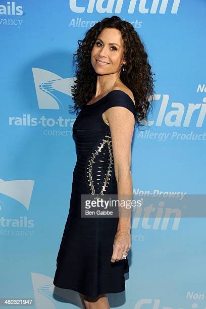 Actress Minnie Driver attends 'Red Carpet Trail' New York Premiere at The Standard Highline on April 3 2014 in New York City