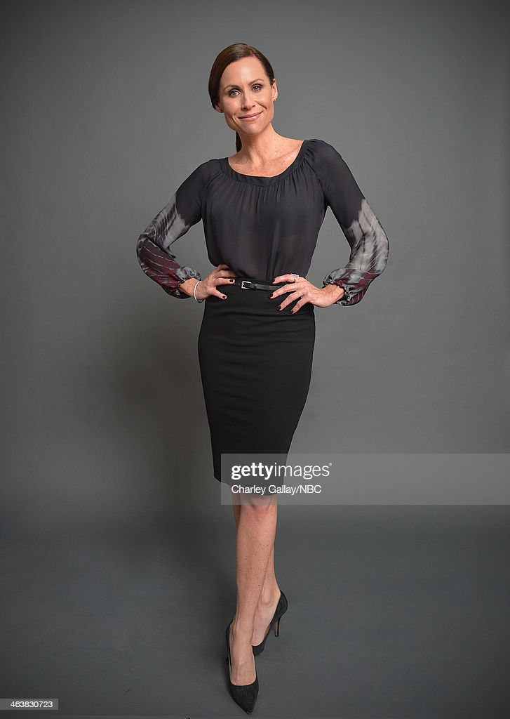 Actress <a gi-track='captionPersonalityLinkClicked' href=/galleries/search?phrase=Minnie+Driver&family=editorial&specificpeople=201884 ng-click='$event.stopPropagation()'>Minnie Driver</a> attends the 2014 NBCUniversal TCA Winter Press Tour Portraits at Langham Hotel on January 19, 2014 in Pasadena, California.