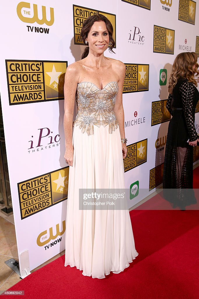 Actress <a gi-track='captionPersonalityLinkClicked' href=/galleries/search?phrase=Minnie+Driver&family=editorial&specificpeople=201884 ng-click='$event.stopPropagation()'>Minnie Driver</a> attends the 4th Annual Critics' Choice Television Awards at The Beverly Hilton Hotel on June 19, 2014 in Beverly Hills, California.