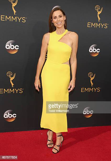 Actress Minnie Driver attends the 68th Annual Primetime Emmy Awards at Microsoft Theater on September 18 2016 in Los Angeles California