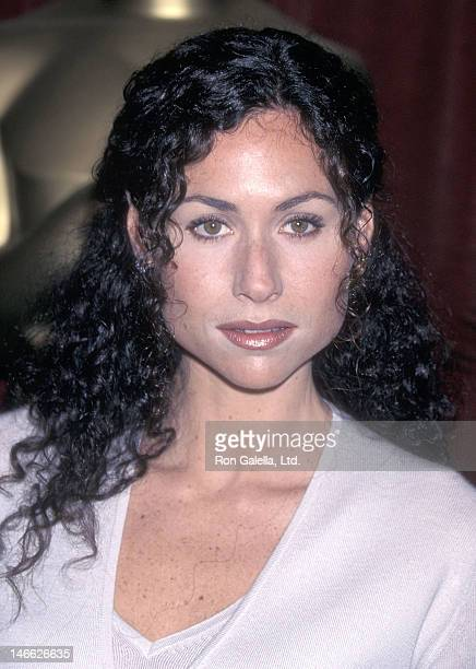 Actress Minnie Driver attends the 70th Annual Academy Awards Nominees Luncheon on March 9 1998 at the Beverly Hilton Hotel in Beverly Hills California