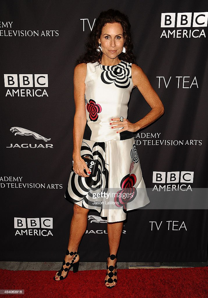 Actress Minnie Driver attends the BAFTA Los Angeles TV Tea Party at SLS Hotel on August 23 2014 in Beverly Hills California