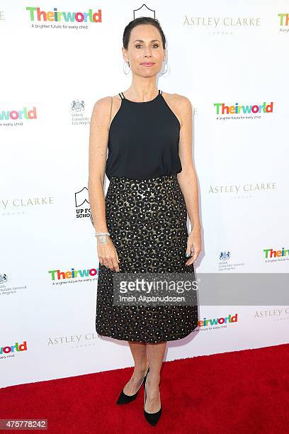 Actress Minnie Driver attends the British Consul General hosted Theirworld collaboration with Astley Clarke summer reception at The British Residence...