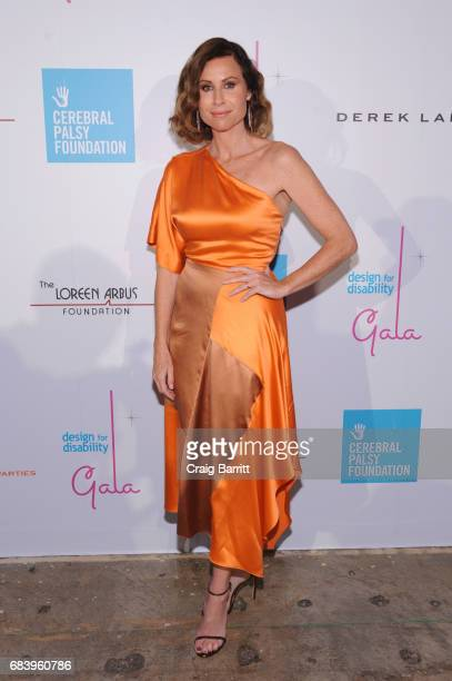 Actress Minnie Driver attends the Design For Disability gala on May 16 2017 in New York City