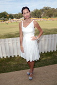 Actress Minnie Driver attends the Third Annual Veuve Clicquot Polo Classic at Will Rogers State Historic Park on October 6 2012 in Pacific Palisades...