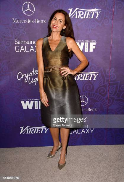 Actress Minnie Driver attends Variety and Women in Film Annual PreEmmy Celebration at Gracias Madre on August 23 2014 in West Hollywood California