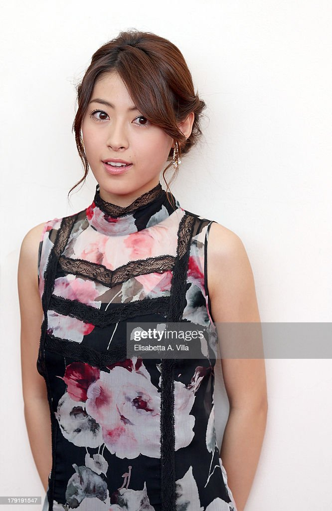Actress <a gi-track='captionPersonalityLinkClicked' href=/galleries/search?phrase=Miori+Takimoto&family=editorial&specificpeople=11323135 ng-click='$event.stopPropagation()'>Miori Takimoto</a> attends 'The Wind Rises' Photocall during the 70th Venice International Film Festival at the Palazzo del Casino on September 1, 2013 in Venice, Italy.