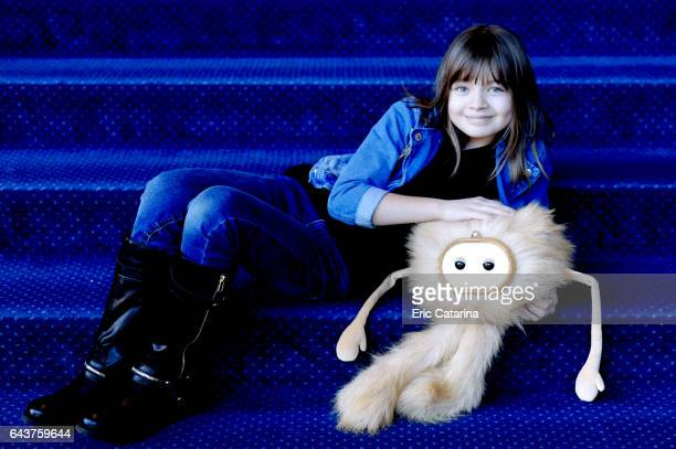 Actress Mira Forsell is photographed for Self Assignment on February 14 2017 in Berlin Germany