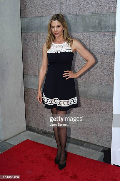 Actress Mira Sorvino arrives at the 17th Annual CAST From Slavery To Freedom Gala at Skirball Cultural Center on May 21 2015 in Los Angeles California