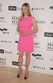 Actress Mira Sorvino arrives at the 4th Annual Reel Stories Real Lives event benefiting the Motion Picture Television Fund at Milk Studios on April...
