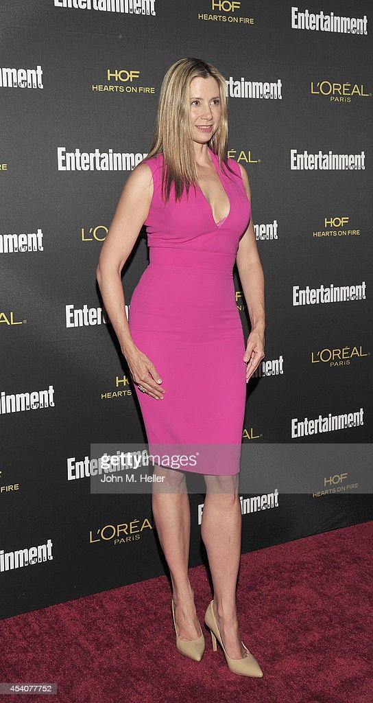 Actress Mira Sorvino attends Entertainment Weekly's Pre-Emmy Party at Fig & Olive on Melrose Place on August 23, 2014 in West Hollywood, California.