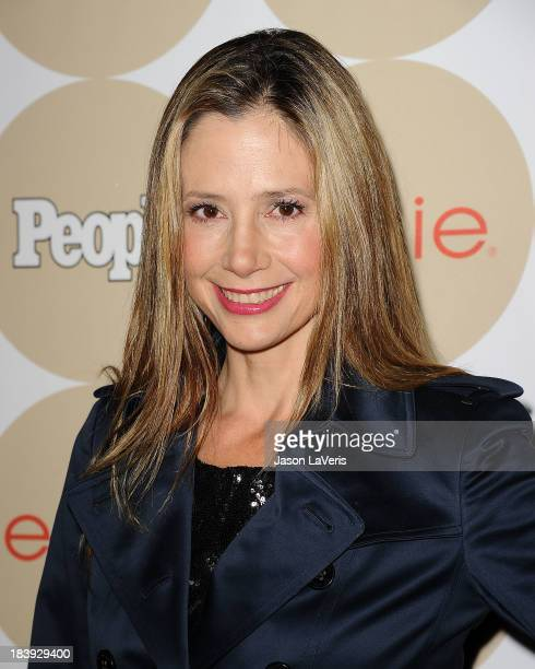 Actress Mira Sorvino attends People's 'Ones To Watch' party at Hinoki the Bird on October 9 2013 in Los Angeles California