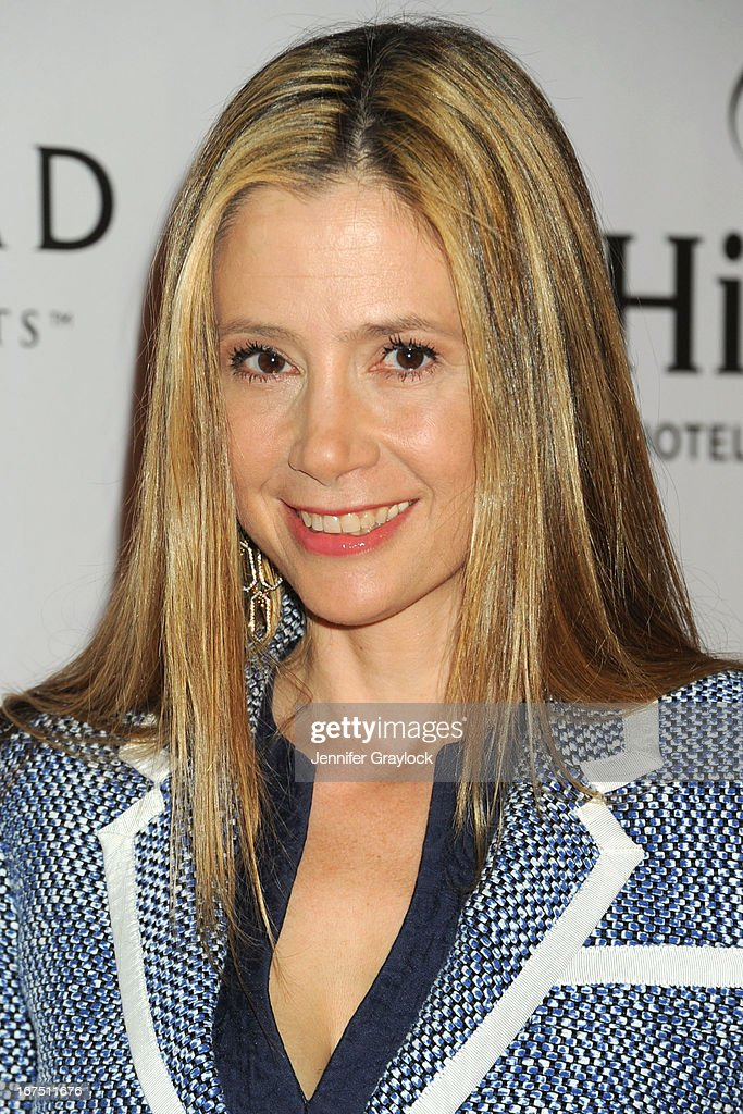 Actress Mira Sorvino attends the 2013 Tribeca Film Festival awards at The Conrad New York on April 25, 2013 in New York City.