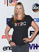 Actress Mira Sorvino attends the 4th Biennial Stand Up To Cancer A Program of The Entertainment Industry Foundation at Dolby Theatre on September 5...