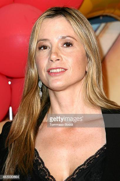 Actress Mira Sorvino attends the celebrity premiere of Ringling Bros and Barnum Bailey presents 'Legends' held at Staples Center on July 10 2014 in...