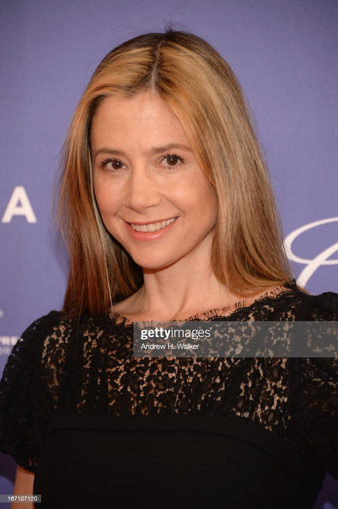 Actress Mira Sorvino attends the 'I Got Somethin' To Tell You' World Premiere during the 2013 Tribeca Film Festival on April 20, 2013 in New York City.