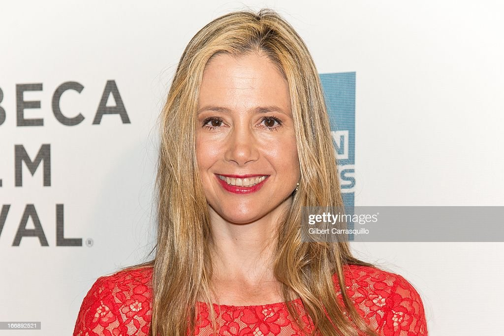 Actress Mira Sorvino attends the 'Mistaken for Strangers premiere during the opening night of the 2013 Tribeca Film Festival at BMCC Tribeca PAC on April 17, 2013 in New York City.