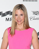 Actress Mira Sorvino atttends the 4th Annual 'Reel Stories Real Lives' benefiting the Motion Picture Television Fund at Milk Studios on April 25 2015...
