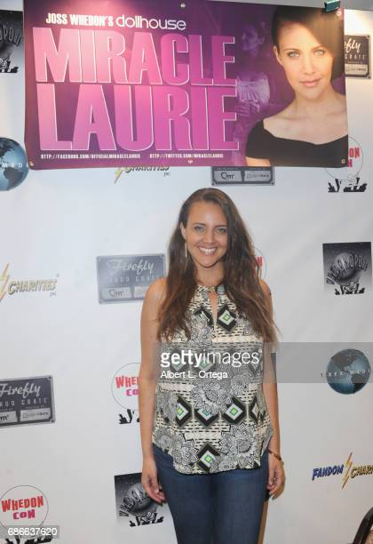 Actress Miracle Laurie attends WhedonCon 2017 held at Warner Center Marriott Woodland Hills on May 21 2017 in Woodland Hills California