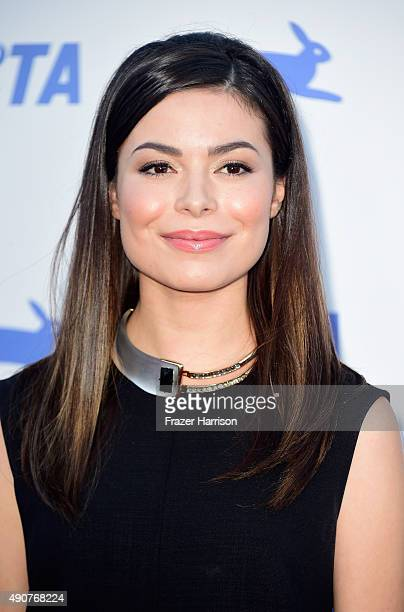 Actress Miranda Cosgrove arrives at PETA's 35th Anniversary Party at Hollywood Palladium on September 30 2015 in Los Angeles California