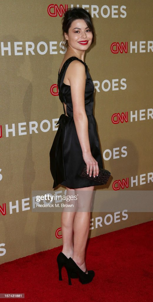 Actress Miranda Cosgrove attends the CNN Heroes: An All Star Tribute at The Shrine Auditorium on December 2, 2012 in Los Angeles, California.
