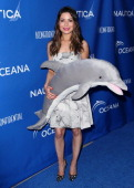 Actress Miranda Cosgrove attends the Nautica and LA Confidential's Oceana Beach House Party at the Marion Davies Guest House on May 16 2014 in Santa...