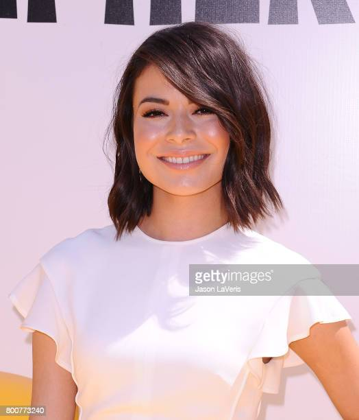 Actress Miranda Cosgrove attends the premiere of 'Despicable Me 3' at The Shrine Auditorium on June 24 2017 in Los Angeles California
