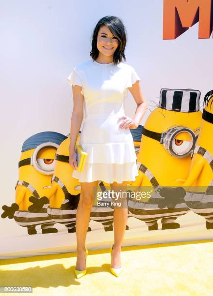 Actress Miranda Cosgrove attends the premiere of Universal Pictures And Illumination Entertainment's 'Despicable Me 3' at The Shrine Auditorium on...