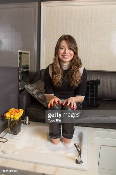 Actress Miranda Cosgrove is photographed for USA Today on November 20 2012 in New York City
