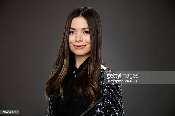 Actress Miranda Cosgrove poses for a portrait during the NBCUniversal Press Day at The Langham Huntington Pasadena on January 13 2016 in Pasadena...