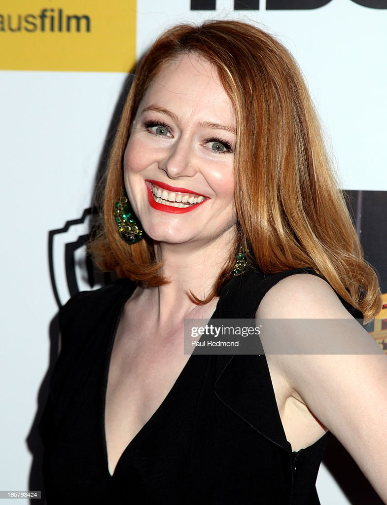 Actress <a gi-track='captionPersonalityLinkClicked' href=/galleries/search?phrase=Miranda+Otto&family=editorial&specificpeople=206382 ng-click='$event.stopPropagation()'>Miranda Otto</a> arrives at the Australians In Film Benefit Dinner at the InterContinental Hotel on October 24, 2013 in Century City, California.