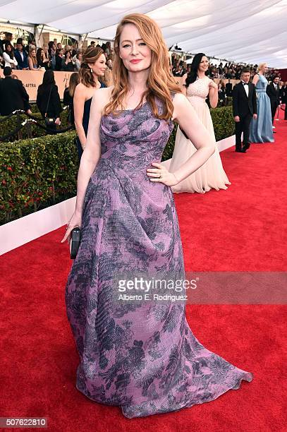 Actress Miranda Otto attends the 22nd Annual Screen Actors Guild Awards at The Shrine Auditorium on January 30 2016 in Los Angeles California