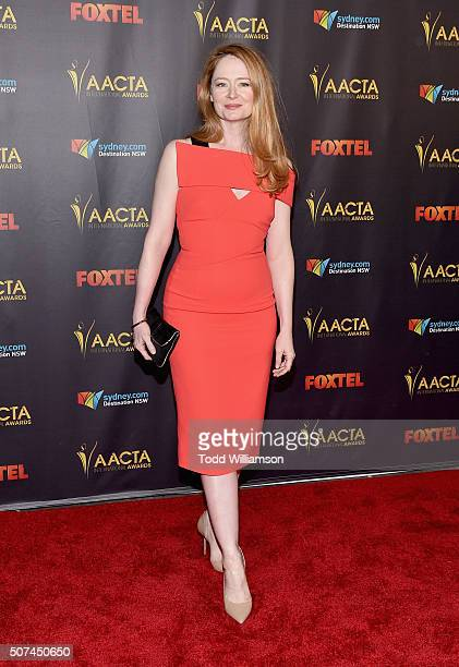 Actress Miranda Otto attends the 5th AACTA International Awards at Avalon Hollywood on January 29 2016 in Los Angeles United States