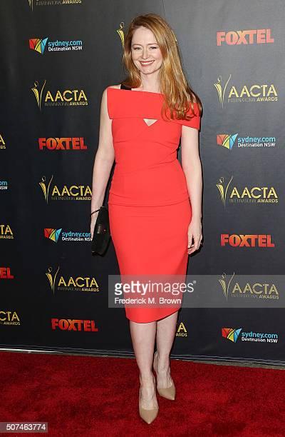 Actress Miranda Otto attends the AACTA International Awards at Avalon Hollywood on January 29 2016 in Los Angeles California
