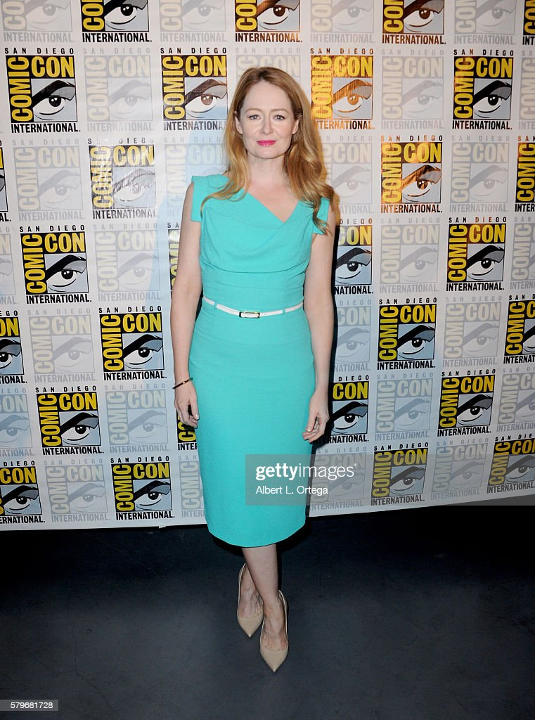 Actress Miranda Otto attends the Fox Action Showcase 'Prison Break' And '24 Legacy' during ComicCon International 2016 at San Diego Convention Center...