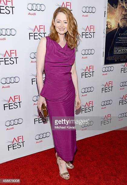 Actress Miranda Otto attends the screening of 'The Homesman' during AFI FEST 2014 presented by Audi at Dolby Theatre on November 11 2014 in Hollywood...