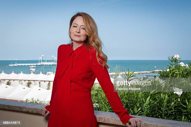 Actress Miranda Otto is photographed for The Hollywood Reporter on September 5 2015 in Venice Italy **NO SALES IN USA TILL DECEMBER 16 2015**
