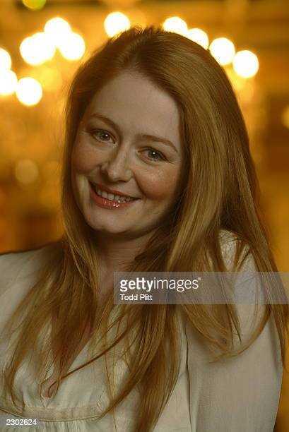 Actress Miranda Otto is photographed in New York City on December 2 2002 during a press event for The Lord of The Rings The Two Towers Otto plays the...