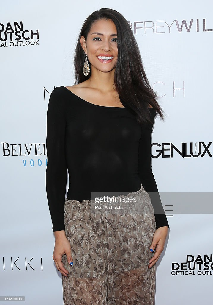 Actress Miranda Rae Mayo attends the Genlux Magazine summer issue release party at the Luxe Rodeo Drive Hotel on June 28, 2013 in Beverly Hills, California.