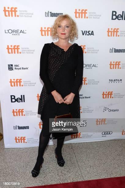 Actress Miranda Richardson arrives at the 'Belle' Premiere during 2013 Toronto International Film Festival at The Elgin on September 8 2013 in...
