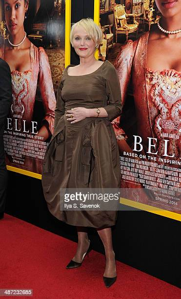 Actress Miranda Richardson attends the 'Belle' premiere at The Paris Theatre on April 28 2014 in New York City